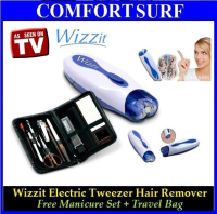 Wizzit - 50x Faster than Tweezers + Manicure Set