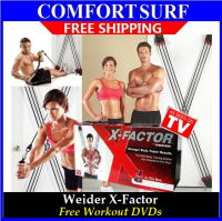 Weider X-Factor Door Gym-Total Trainer Home Gym Body Workout Kit