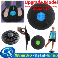 360° Rotation Wobble Massage Fitness Yoga Balance Board Physical Exercise
