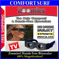 New! Zoomies - Hands Free Binoculars You Wear Like Sunglasses!