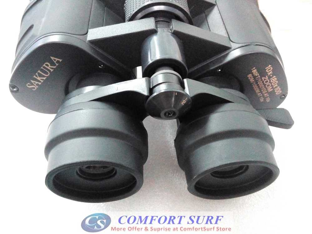 SAKURA 10-180x100 Day and Night Vision High Magnification Binocular