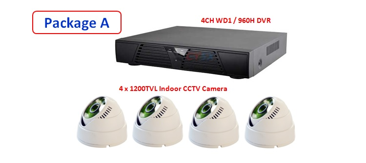 Latest 2015 & NEW Version 4 Channel P2P CCTV Full WD1 (960H) HDMI Network HD DVR Real Time Monitoring Via Smatphone / PC