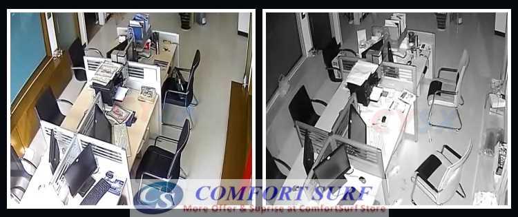 "1400TVL CCTV Dome Camera 1/4"" IR Infrared Color 1400TVL 4PC Strong Array LAMP/LED"