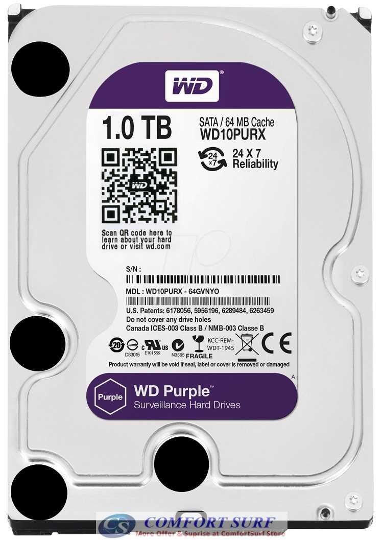 1TB Western Digital HDD Hardisk