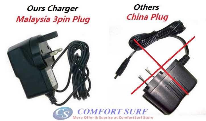 Malaysia 3Pin UK Plug