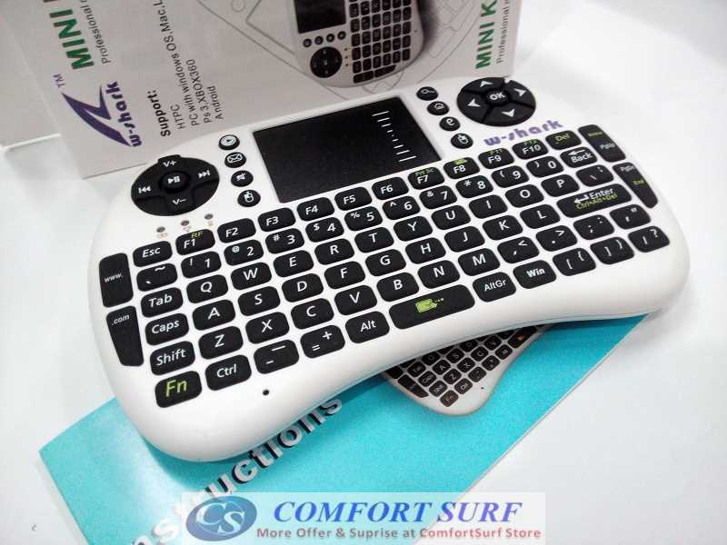 2.4G Wireless Mini Keyboard Mouse with Touchpad Air Mouse