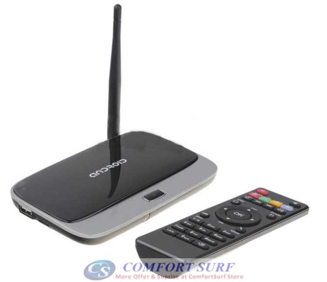 16GB Latest CS918 Quad Core 2GB RAM Android 4 4 Smart TV Box