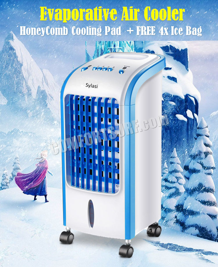 Ice Pack Air Coolers : Mini portable home evaporative swamp air cooler cooling