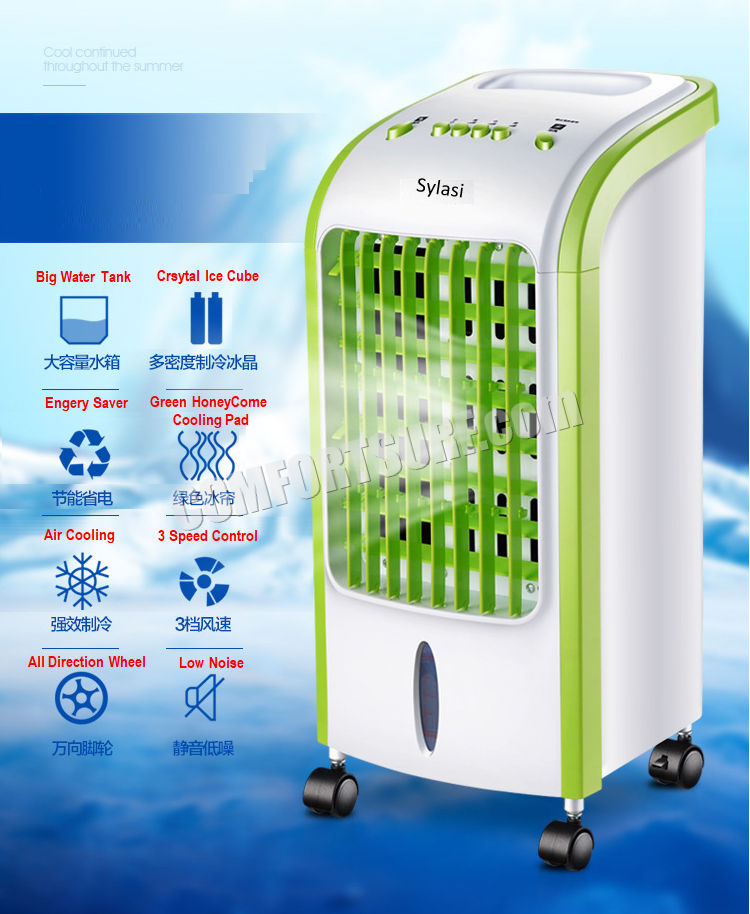 Mini Portable Home Evaporative Swamp Air Cooler Honeycomb