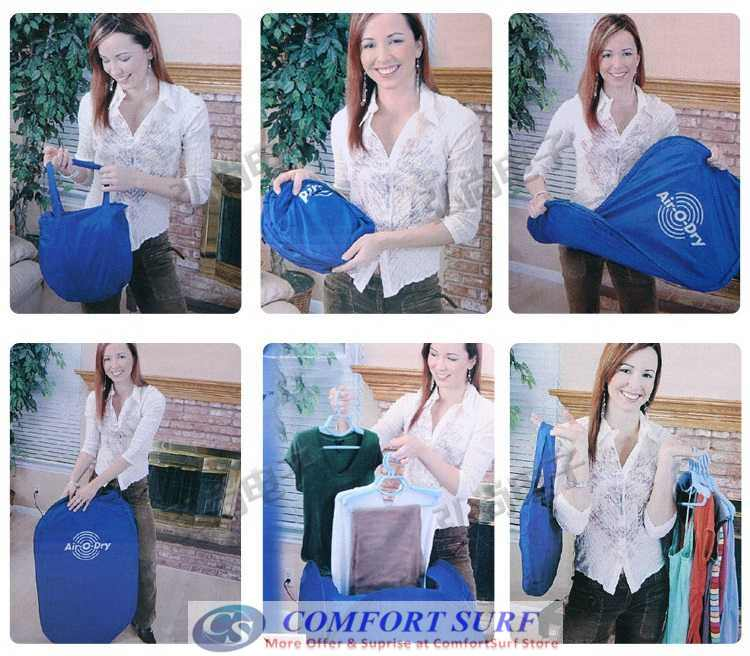 Air-O-Dry Portable Electric Air Clothes Laundry Dryer