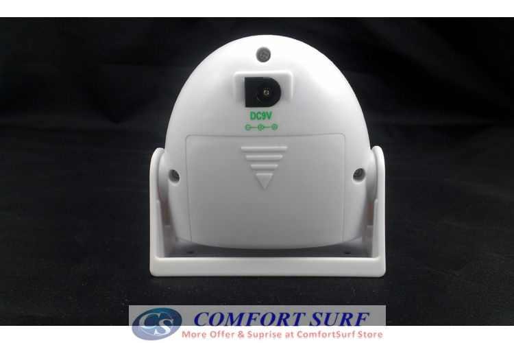 New Intelligent Wireless IR Motion Sensor Welcome Doorbell Door Bell-5301