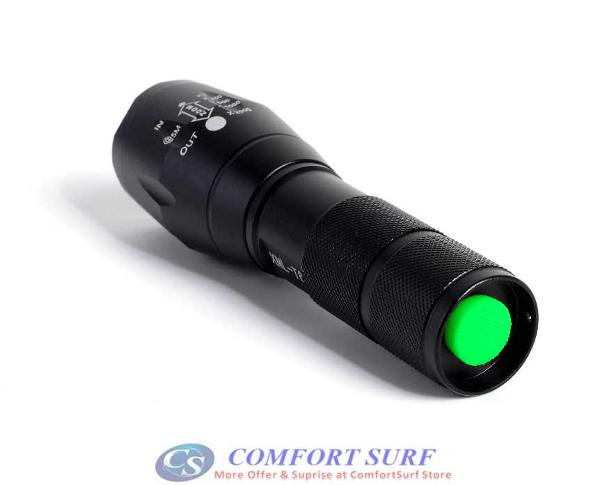 Ultrafire T6 C8 Q5 Flashlight Torchlight Free