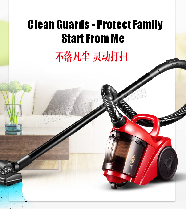 Multi function XC90 Cyclone Vacuum Cleaner Tools EASY for Household Convenience Stay Away From Dust Mite, Acarid + FREE 9pcs Set Connector