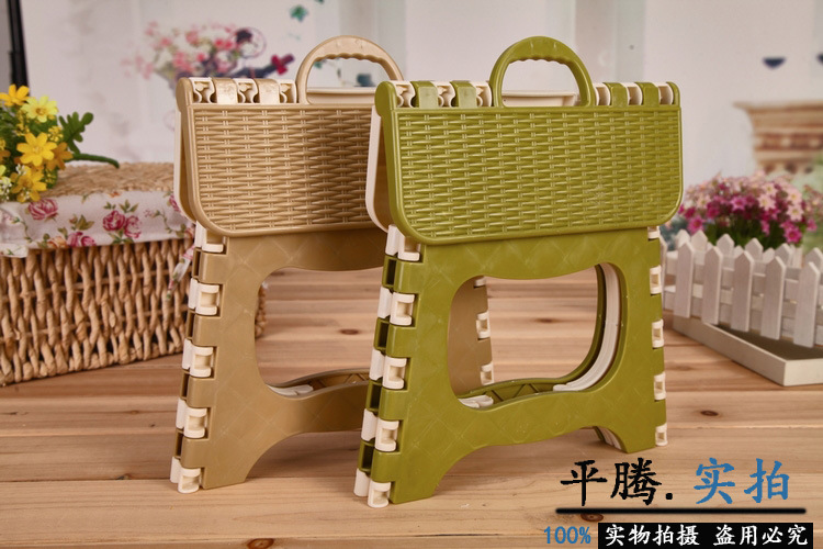 Portable & Foldable Mini Chair Stool for Outdoor Camping and Picnic