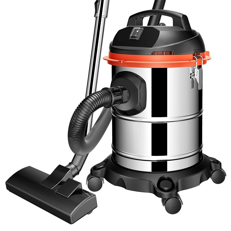 Multifunction Heavy Duty Powerful 1200W 3-in-1 Dry / Wet / Blower Vacuum Cleaner With 15L Stainless Steel Container
