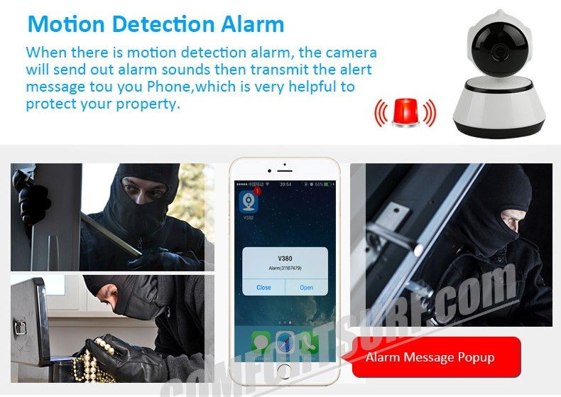 SecurEyes Best 3G P2P Wireless IP CCTV Camera IR Night Vision MicroSD