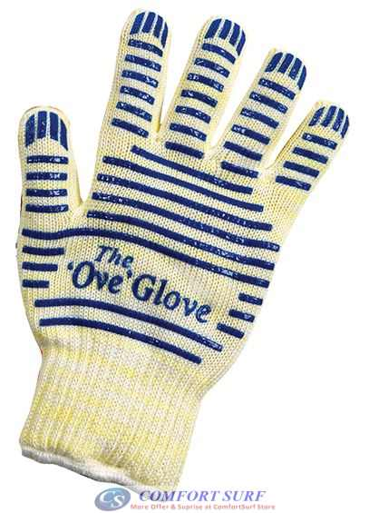 The 'Ove' Glove - Hot Surface Handler with Non-Slip Silicon Grip