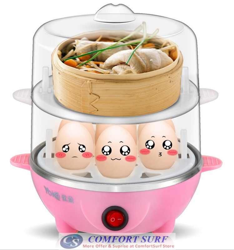Multifunction Egg Steamer Boiler