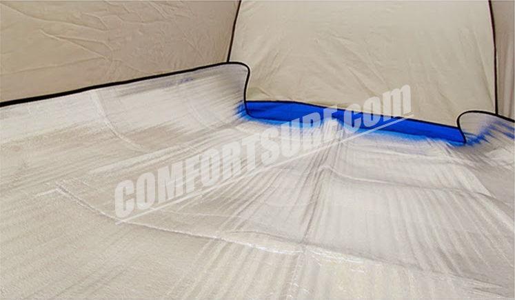 Portable Outdoor Camping Waterproof Aluminium Foil Film Tent Sleeping Floor Eva Mat + FREE Carry Bag
