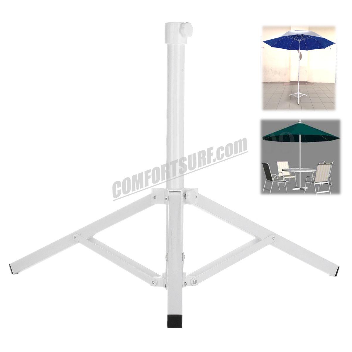 CP017 Metal Steel Adjustable Portable Fishing Sunshade Ground Stand Beach Yard Outdoor Patio Umbrella Stand Base Holder