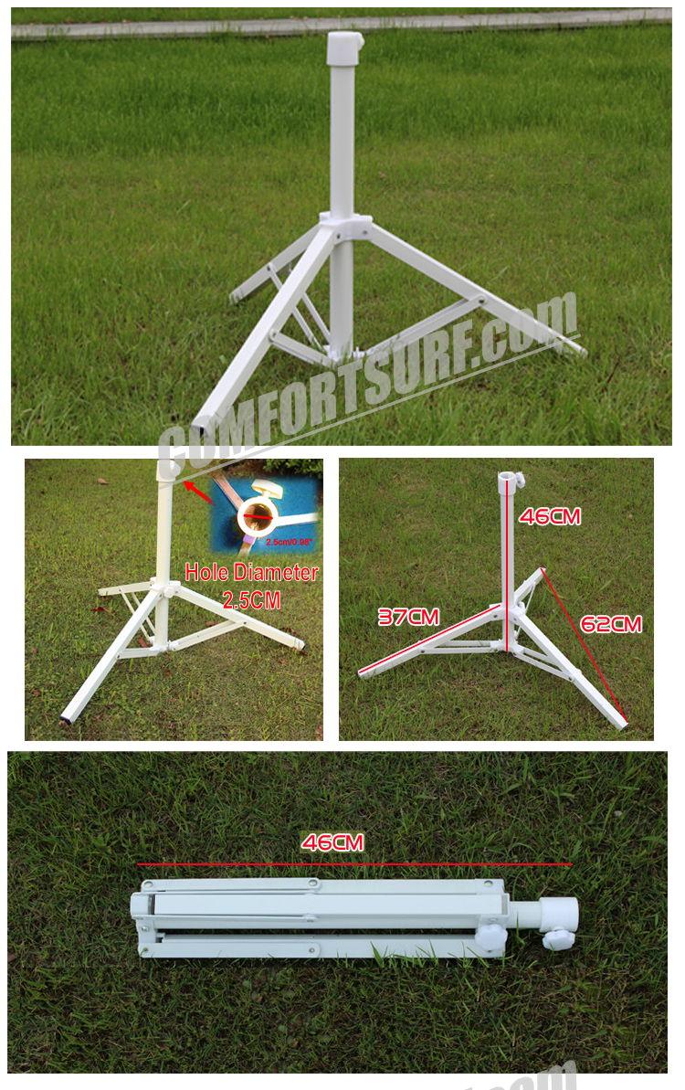 Cp017 Metal Adjustable Fishing Sunshade Ground Stand Beach