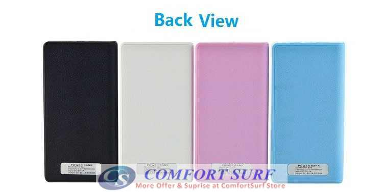 Wallet 20000 30000 50000mAH PORTABLE CHARGER BATTERY Power Bank