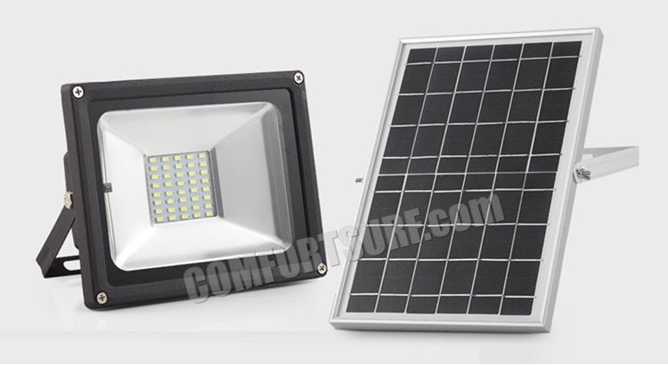 MaxSolar SL024 20W High Power 40LED Solar Street Light Flood light Night Sensor Outdoor Garden Lamp Security Light Commercial Grade Solar