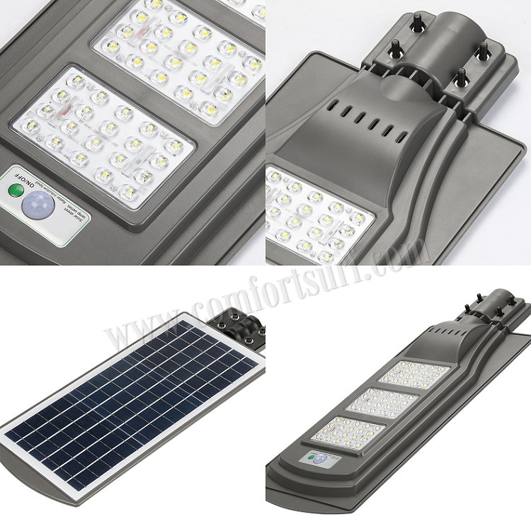 MaxSolar SL033 20W 40W 60W 60 LED Solar Powered Street Lamp Light Road Outdoor Yard Flood Garden Spot Lamp lights