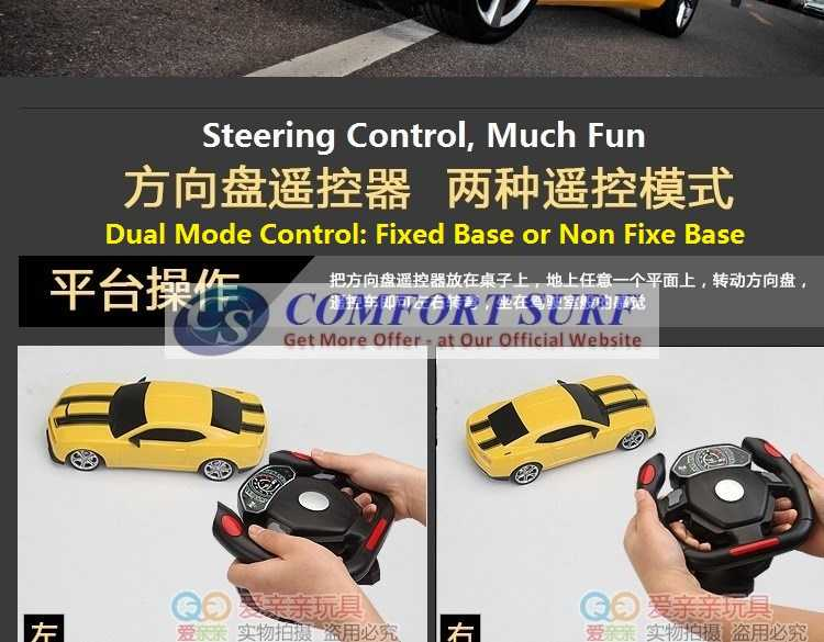 NEW 4 CHANNEL Gravity Sensor Steering Design Speed RC IR remote control Car Toy With Light
