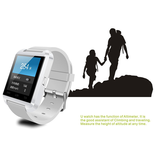 Latest Uwatch U8 Bluetooth 1.48 inch Touch screen Smart watch For ANDROID iphone