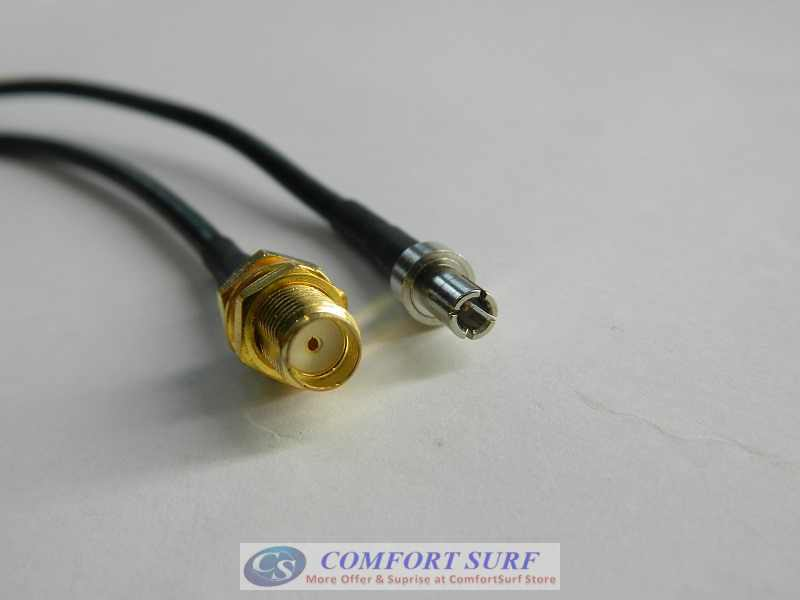 SMA Female to TS9 Patch Lead Adapter Cable: