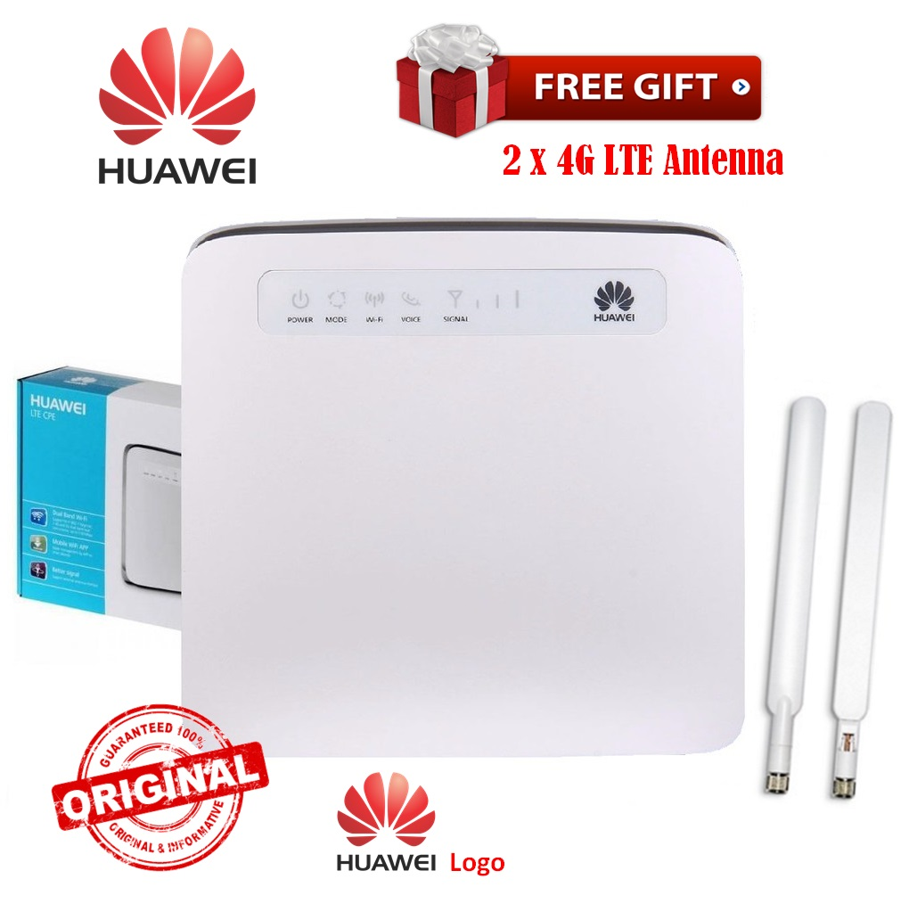 300Mbps Optus Huawei E5186 4G LTE 4G Cat 4 HSPA+ WCDMA WiFi Gateway Router