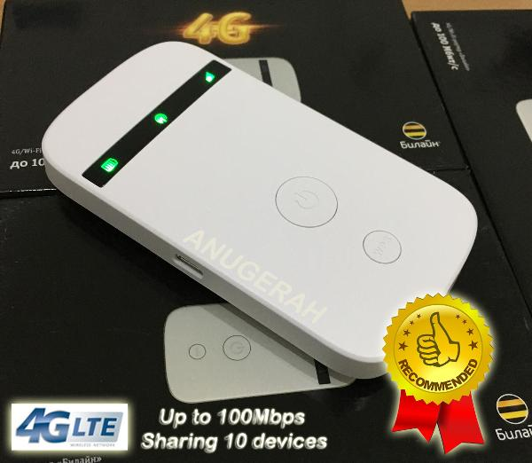 ZTE MF90 4G LTE Mobile WiFi Hotspot Mifi Wireless Gateway Router Broadband Modem