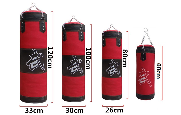 80 / 100cm Training Fitness MMA Boxing Heavy Sand Punching Bag Buy 1 Free 4