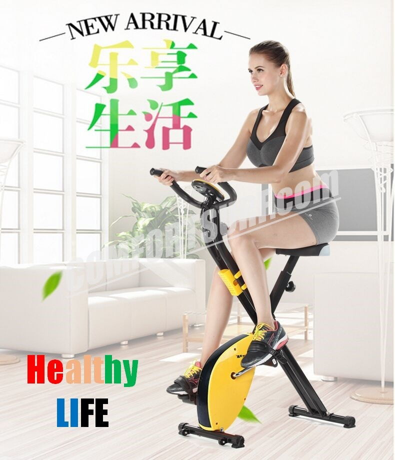 Gym Fitness TechSport X Bike Foldable Sport Equipment Belt Exercise Bicycle Cycle Bike