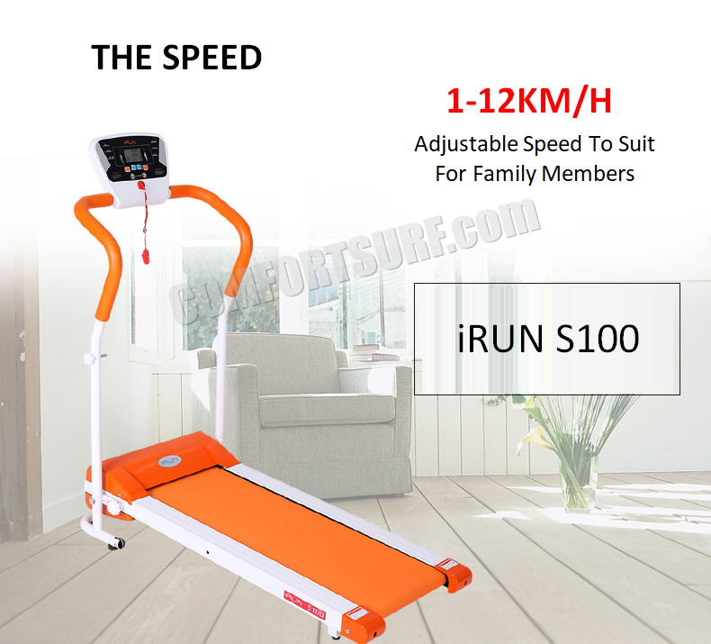 iRUN S100 Electric Treadmill Home Fitness Foldable Gym Running Walking Equipment